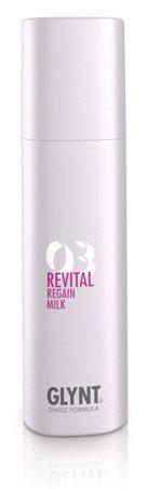 REVITAL Regain Milk - odżywka przeznaczona do intensywnej, natychmiastowej pielęgnacji włosów z pasemkami, farbowanych, falowanych i wrażliwych, nadaje im jedwabisty połysk.