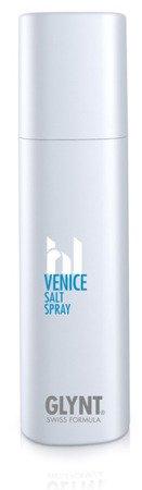 VENICE Salt Spray - nadaje bardzo delikatne utrwalenie, włosy otrzymują lekko falowany wygląd, stosowany na mokre lub suche włosy.